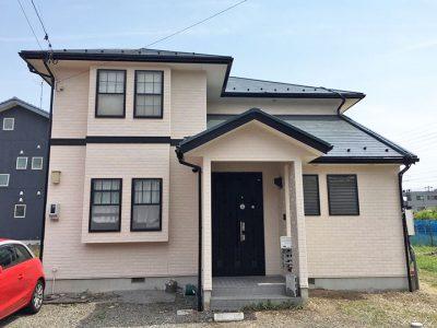 岐阜県各務原市 外壁屋根塗装完成