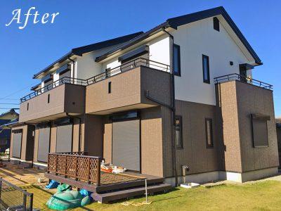 愛知県知多郡K様邸 外壁・屋根塗装完成