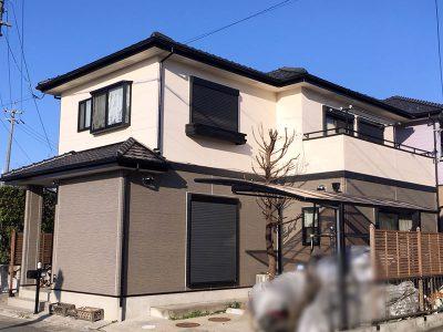 愛知県清須市S様邸 外壁塗装完了