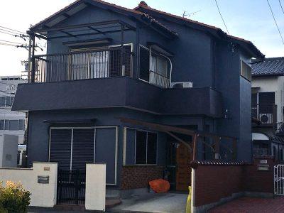 愛知県清須市Y様邸 外壁塗装完了
