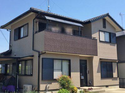 愛知県清須市 外壁塗装工事完了