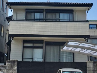 名古屋市中村区 外壁塗装完了
