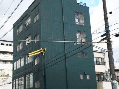 岐阜市 ビル外壁・屋根塗装完了!