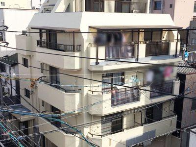 名古屋市西区 マンション外壁塗装 完了