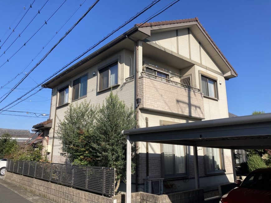 岐阜県岐阜市 U様邸の外壁塗装、防水工事
