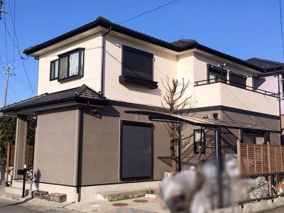愛知県清須市 S様邸の外壁塗装、屋根塗装