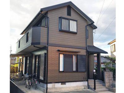 愛知県清須市 T様の外壁塗装、屋根塗装