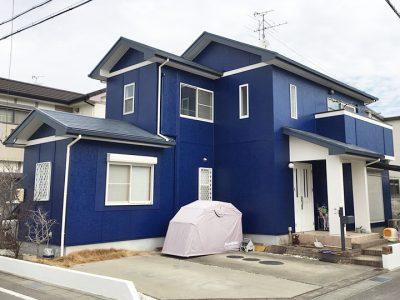 愛知県北名古屋市 T様邸の外壁塗装